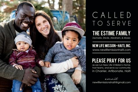 Estime prayer card 2